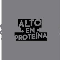 Alto en proteína